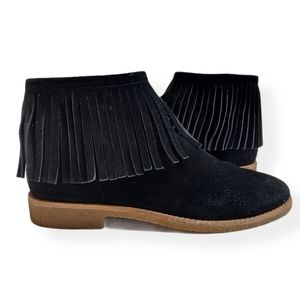 Kate Spade Betsie Too Fringed Suede Ankle Boots